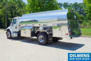 Single Axle Fuel Truck Stock 17781-3
