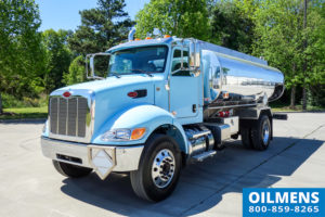 blue peterbilt fuel oil truck oil delivery vehicles - fuel oil truck for sale