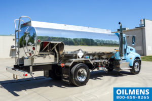 blue fuel oil truck equipment view of oil delivery vehicle - fuel oil truck for sale