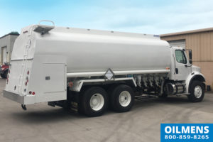 Oilmens Fuel Truck Stock 42016BL used fuel tank trucks for sale