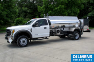 Oilmens fuel hauling trucks Stock 1142469-1